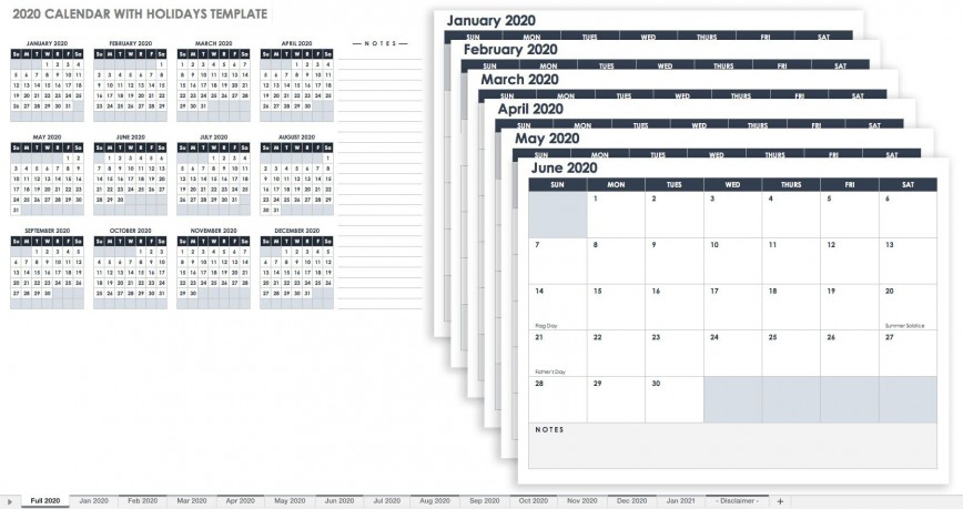 001 Incredible Google Sheet Calendar Template 2020 High Definition  2020-21