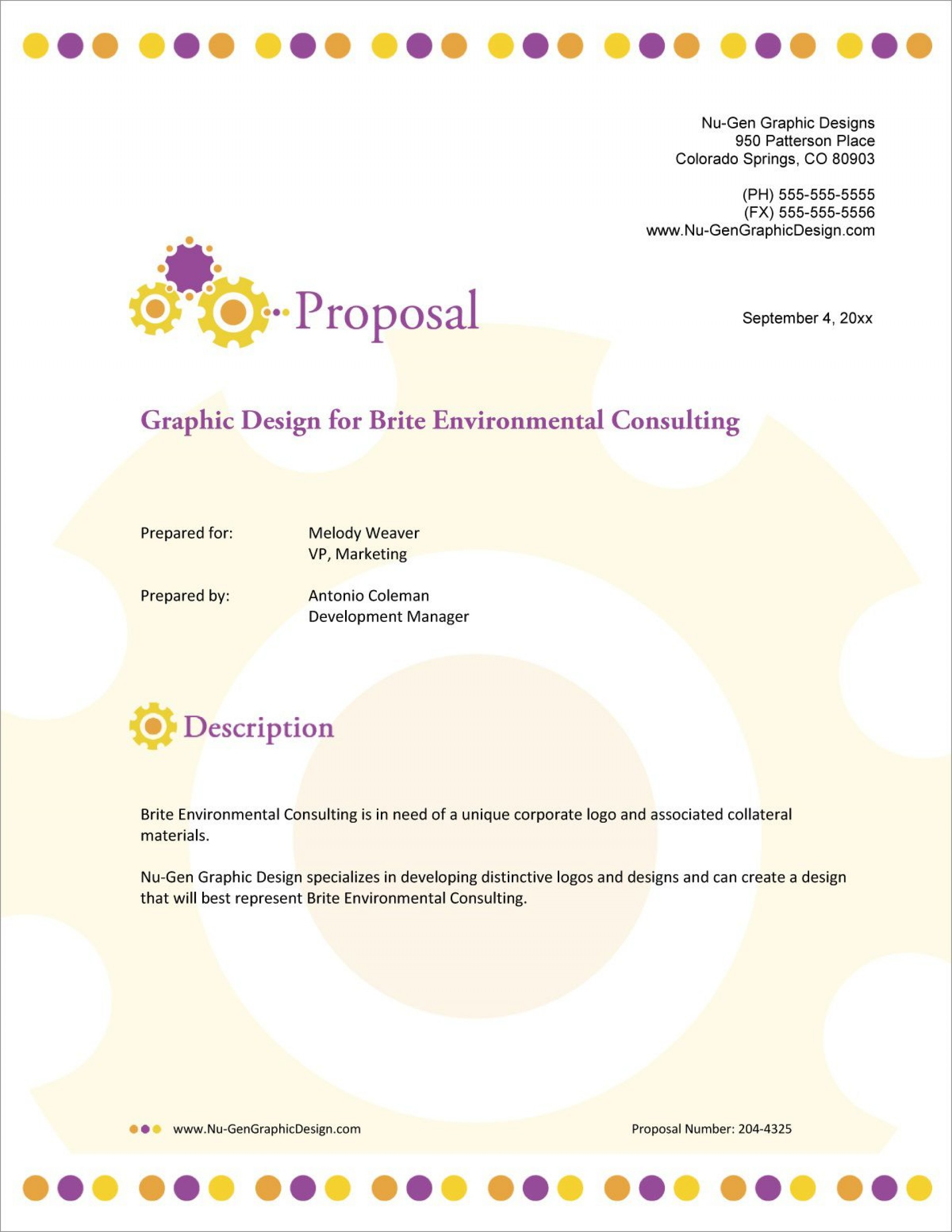 001 Incredible Graphic Design Proposal Sample Image  Pdf Free Template Indesign1920