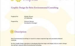 001 Incredible Graphic Design Proposal Sample Image  Pdf Free Template Indesign