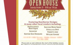 001 Incredible Holiday Open House Invitation Template Photo  Christma Free Printable Wording Idea