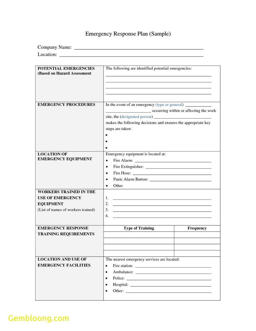 001 Incredible Incident Response Plan Template Concept  Example San For Small Busines PdfFull