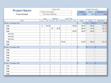 001 Incredible Line Item Budget Template Excel Idea 360