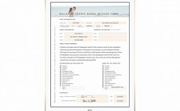 001 Incredible Model Release Form Template High Resolution  Photography Uk Gdpr Australia