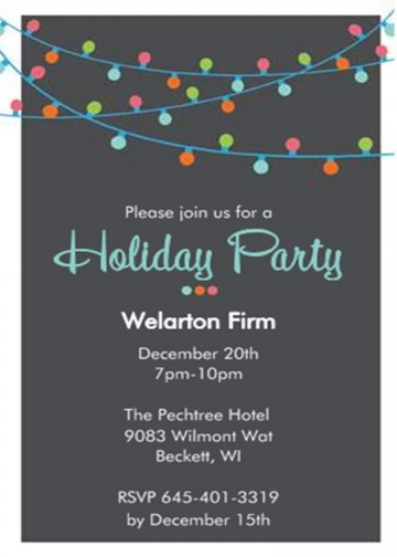 001 Incredible Office Christma Party Invitation Wording Sample Image  Holiday Example360