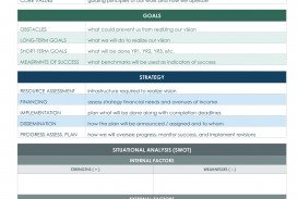 001 Incredible Strategic Plan Template Free Image  Sale Account Excel