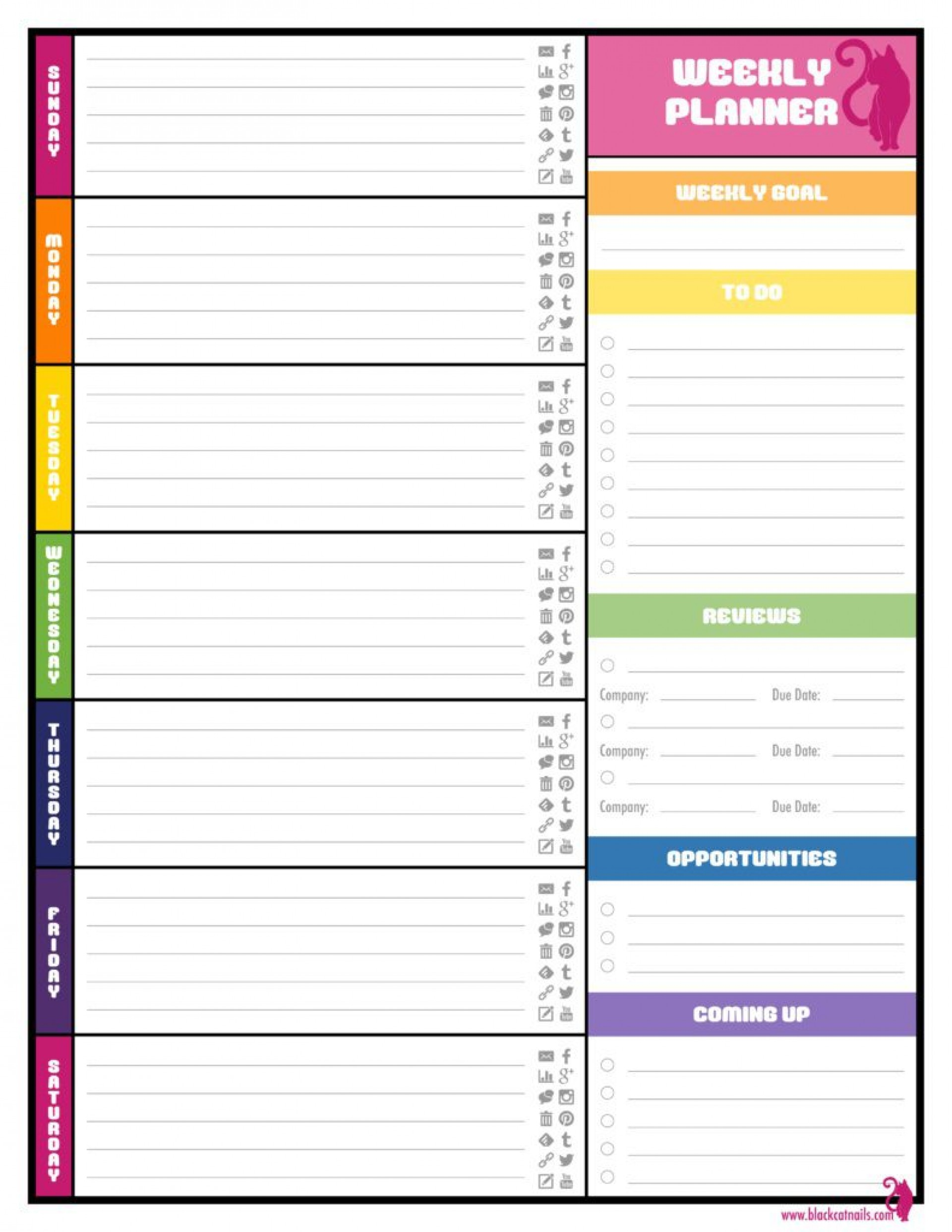 001 Incredible Weekly Schedule Template Word Concept  School Work Plan1920