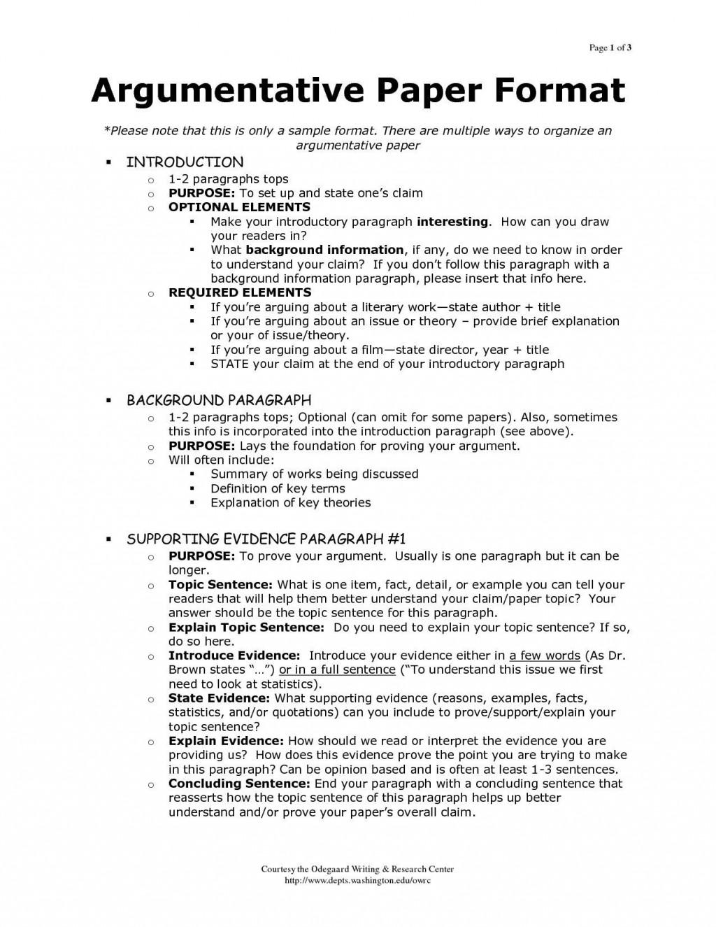 001 Magnificent Argumentative Essay Outline Template Concept  Mla Format Doc Middle SchoolLarge