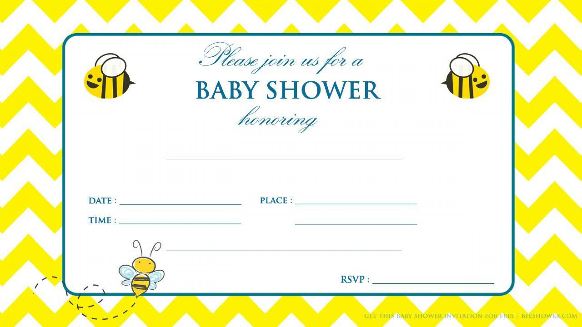 001 Magnificent Baby Shower Invitation Template Word Picture  Office Wording Sample Work Download1920