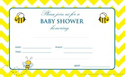 001 Magnificent Baby Shower Invitation Template Word Picture  Office Wording Sample Work Download