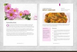 001 Magnificent Create Your Own Cookbook Template Idea  Free