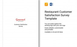 001 Magnificent Customer Satisfaction Survey Template Word Inspiration  Doc Form