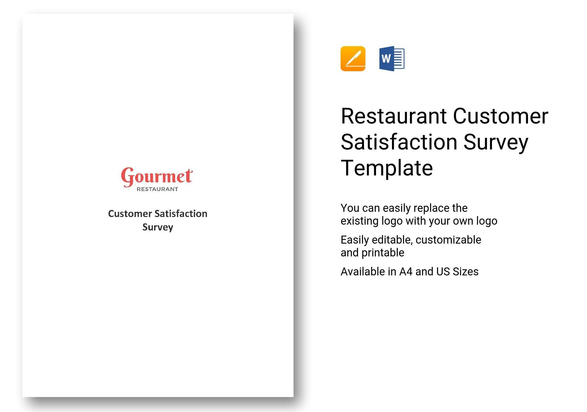 001 Magnificent Customer Satisfaction Survey Template Word Inspiration  Doc FormFull