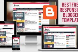001 Magnificent Download Free Responsive Blogger Template Highest Quality  Newspaper - Magazine Premium