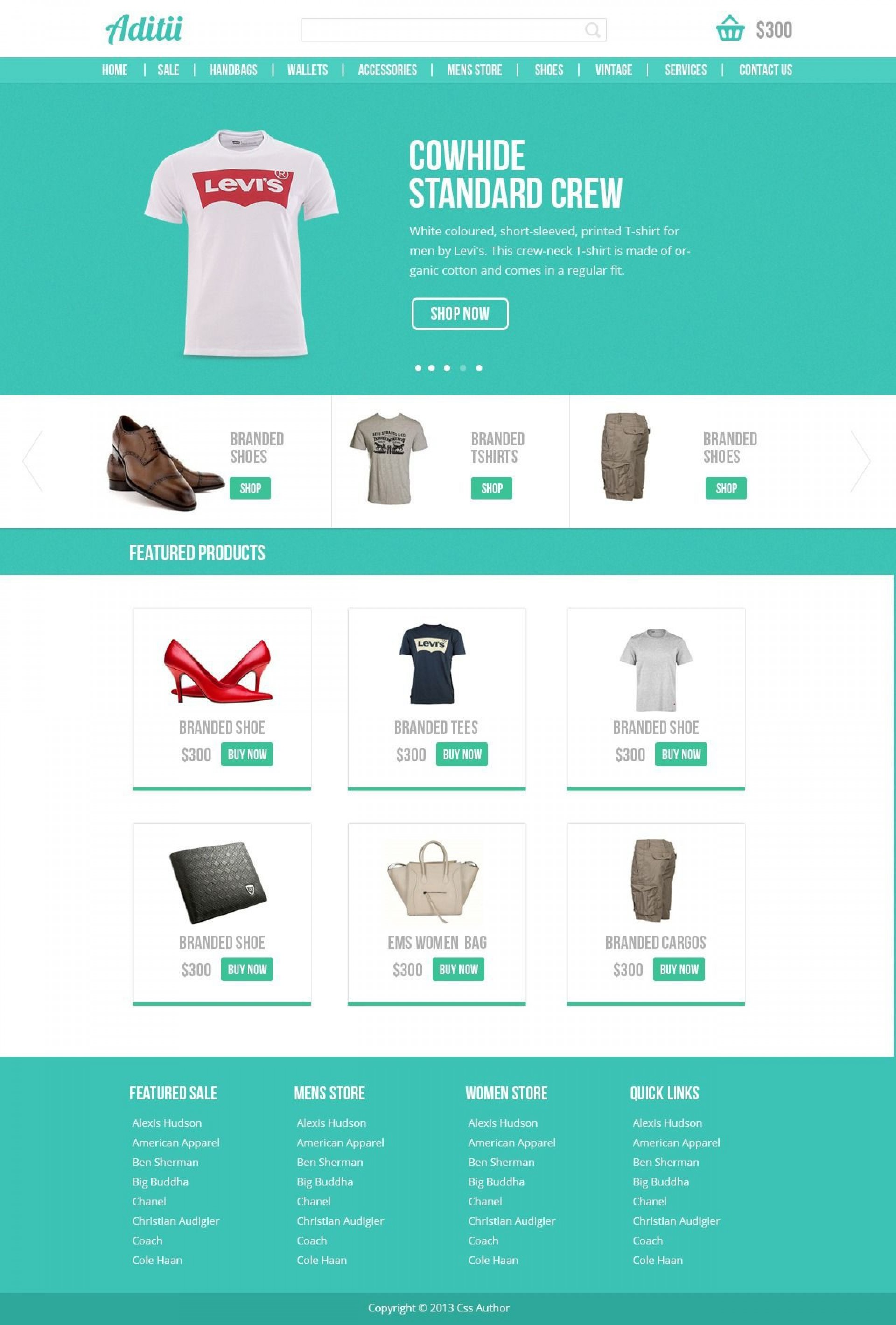 001 Magnificent Free Commerce Website Template Concept  Wordpres Ecommerce Download Responsive Html Cs1920