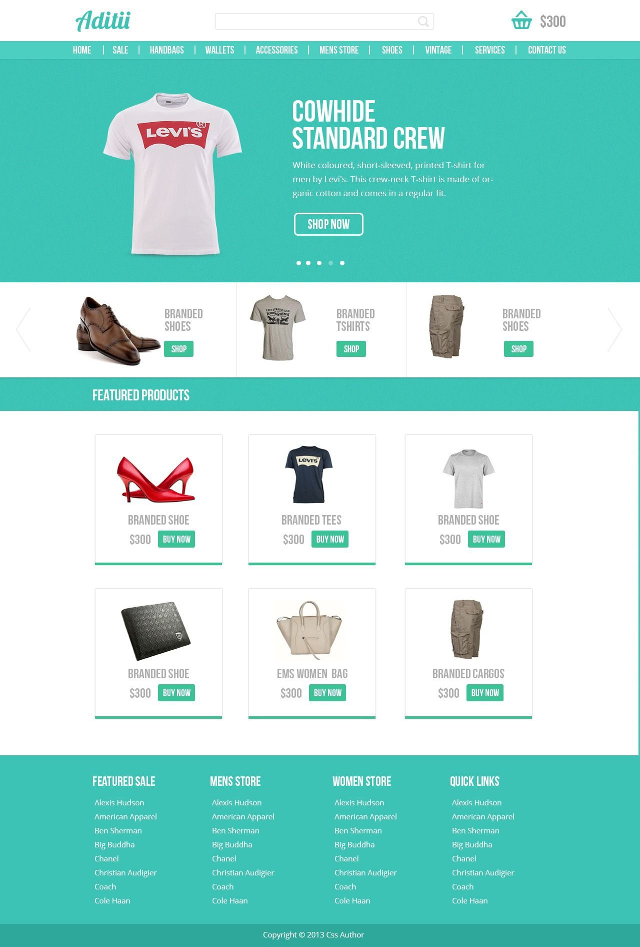 001 Magnificent Free Commerce Website Template Concept  Wordpres Ecommerce Download Responsive Html CsFull