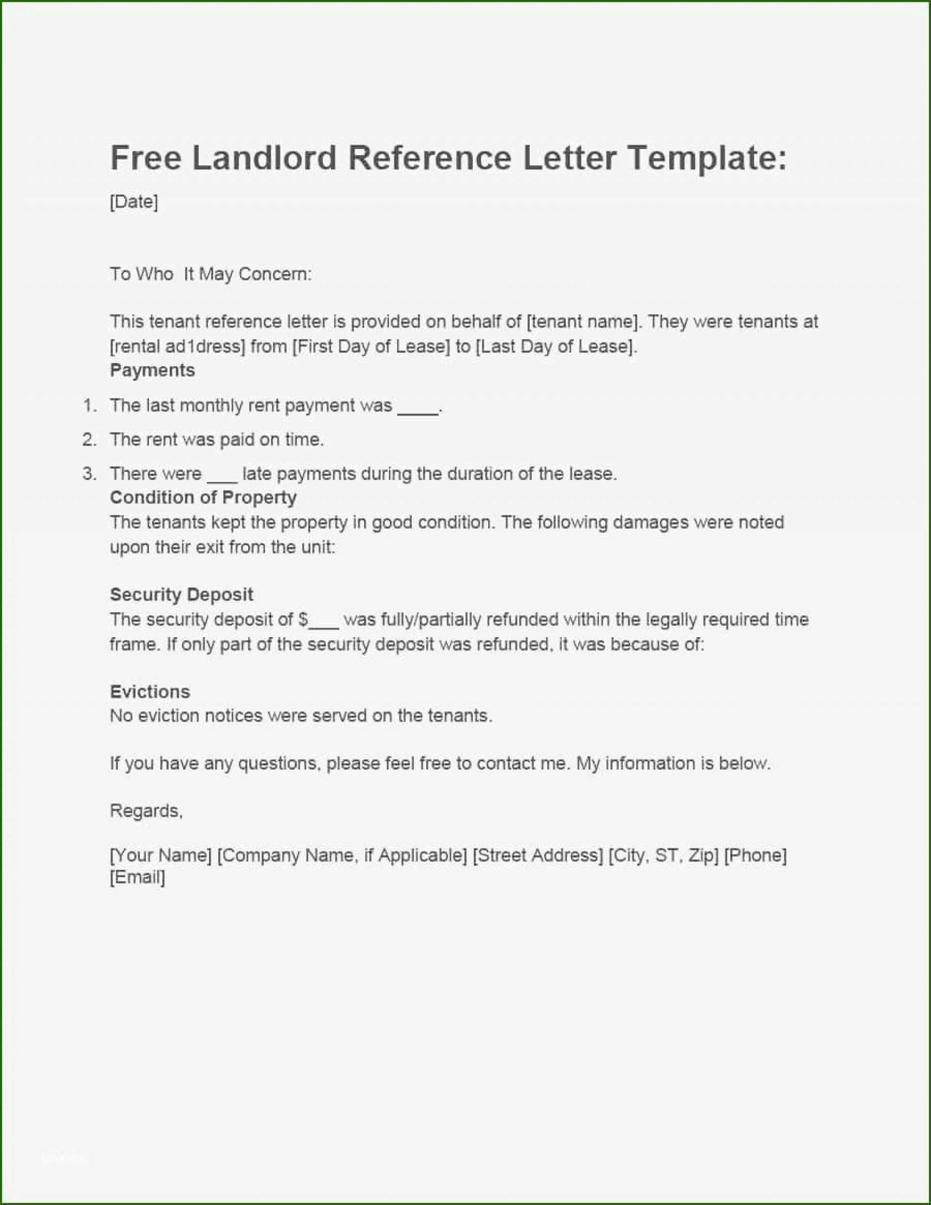 001 Magnificent Free Reference Letter Template For Landlord High Definition  Rental1920