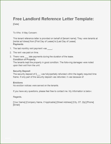 001 Magnificent Free Reference Letter Template For Landlord High Definition  Rental360