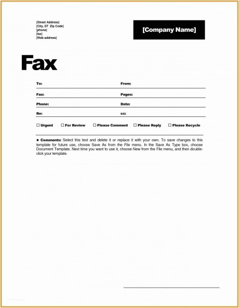 001 Magnificent General Fax Cover Letter Template Photo  Sheet Word Confidential Example480