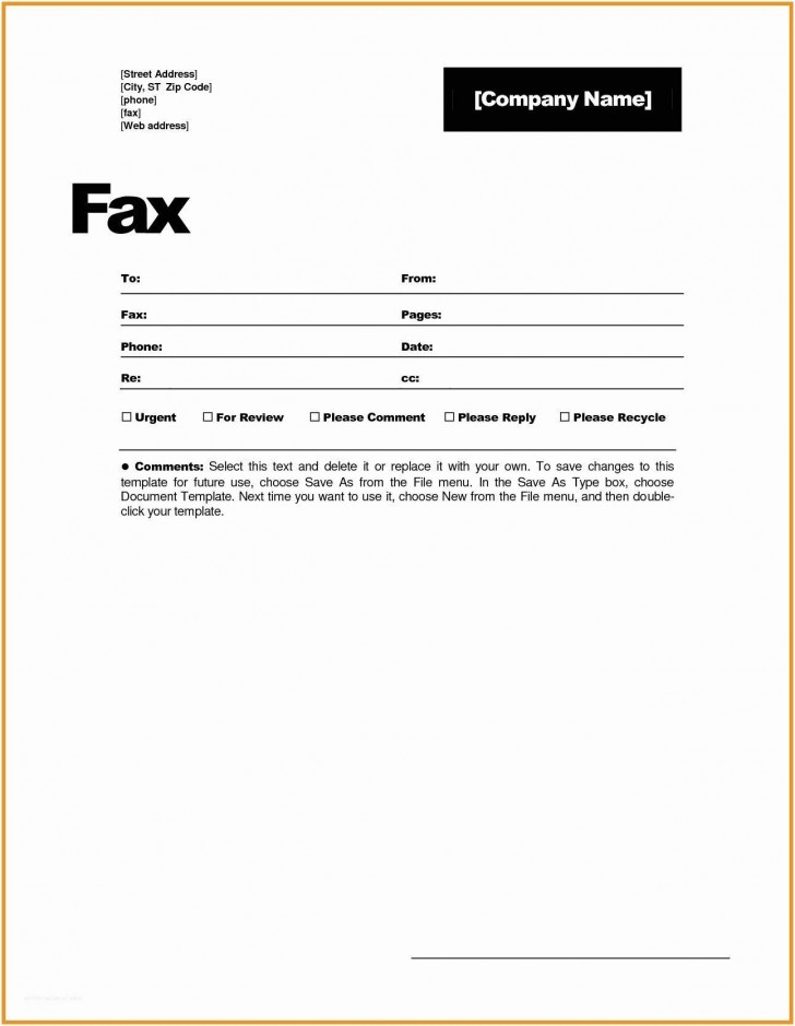 001 Magnificent General Fax Cover Letter Template Photo  Sheet Word Confidential Example728