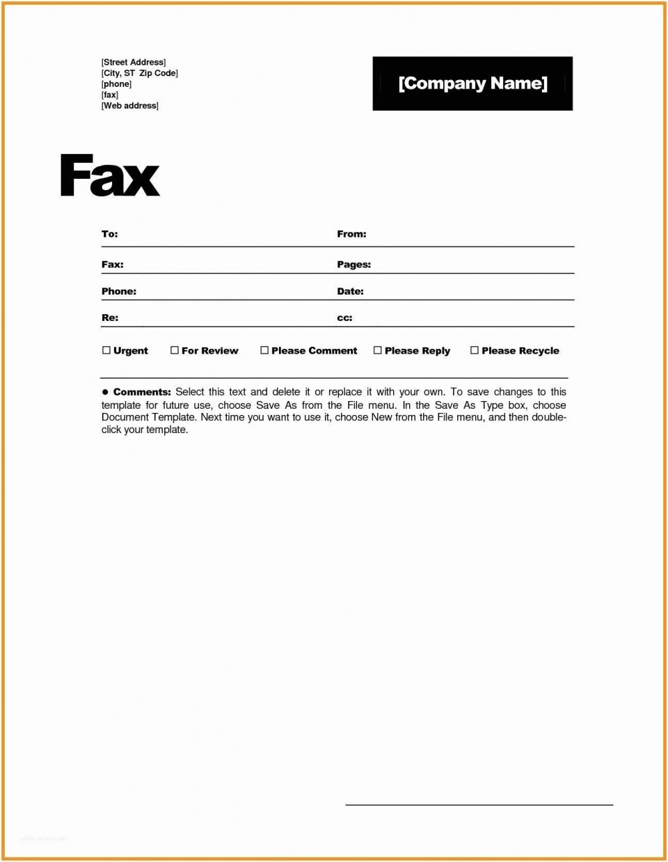 001 Magnificent General Fax Cover Letter Template Photo  Sheet Word Confidential Example960