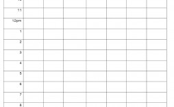 001 Magnificent Hourly Schedule Template Word Design  Calendar Microsoft Work