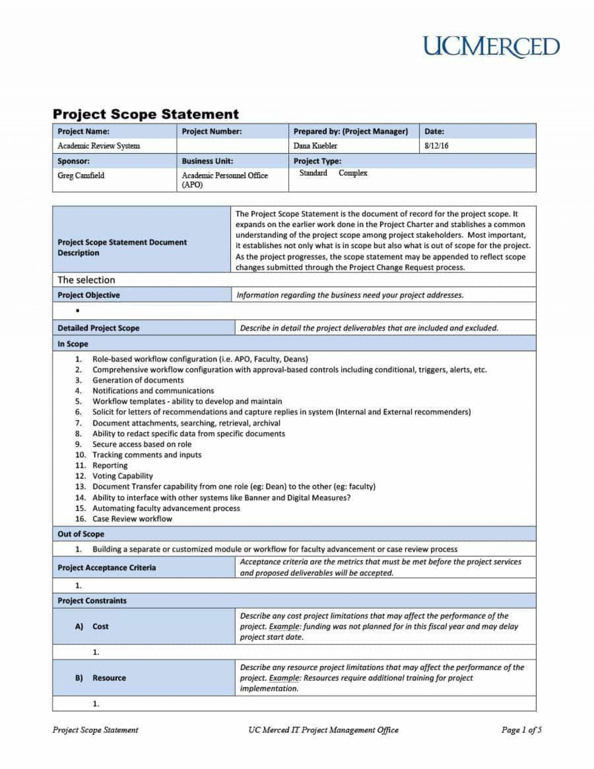 001 Magnificent Project Management Report Template Word Image  Free Statu1920