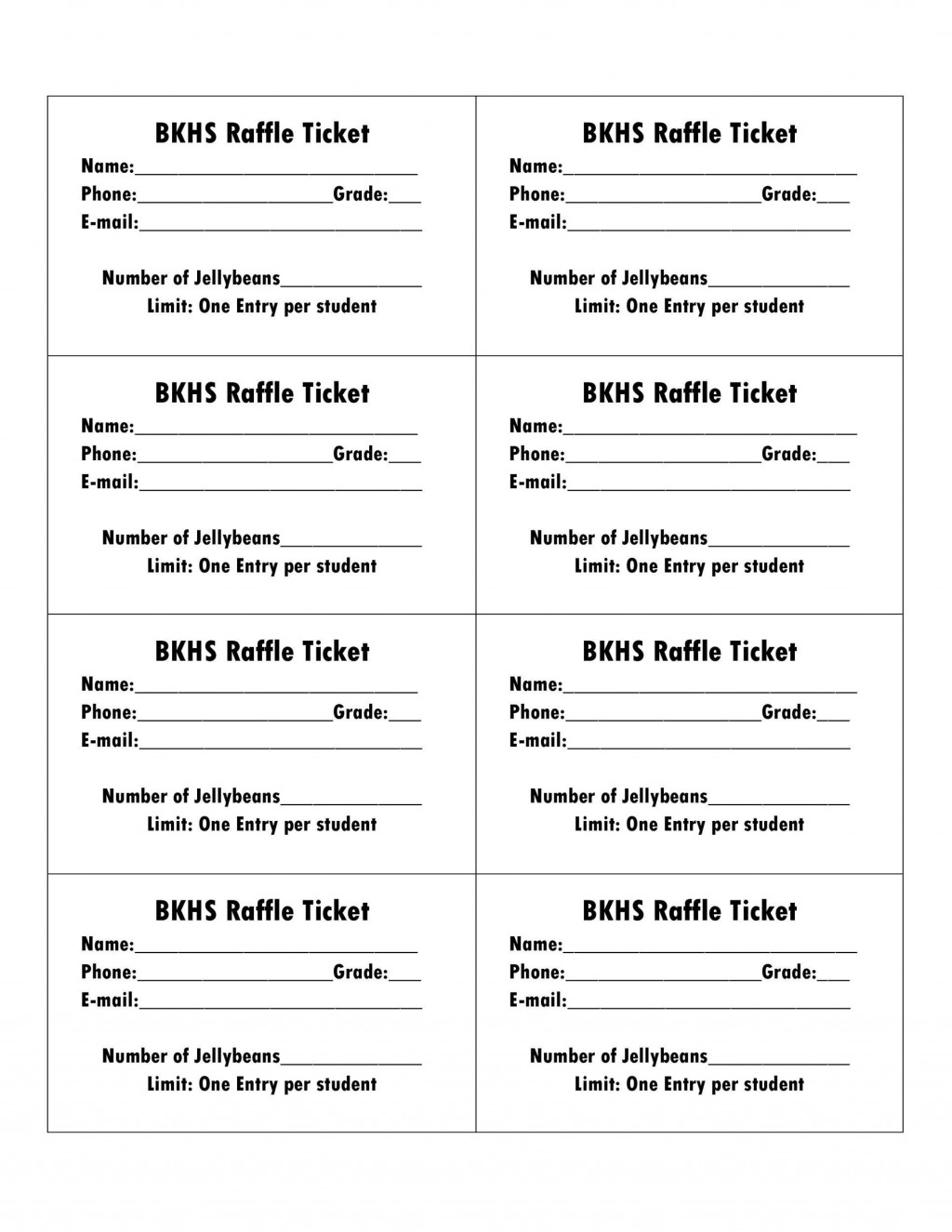 001 Magnificent Raffle Ticket Template Word Photo  8 Per Page FormatLarge