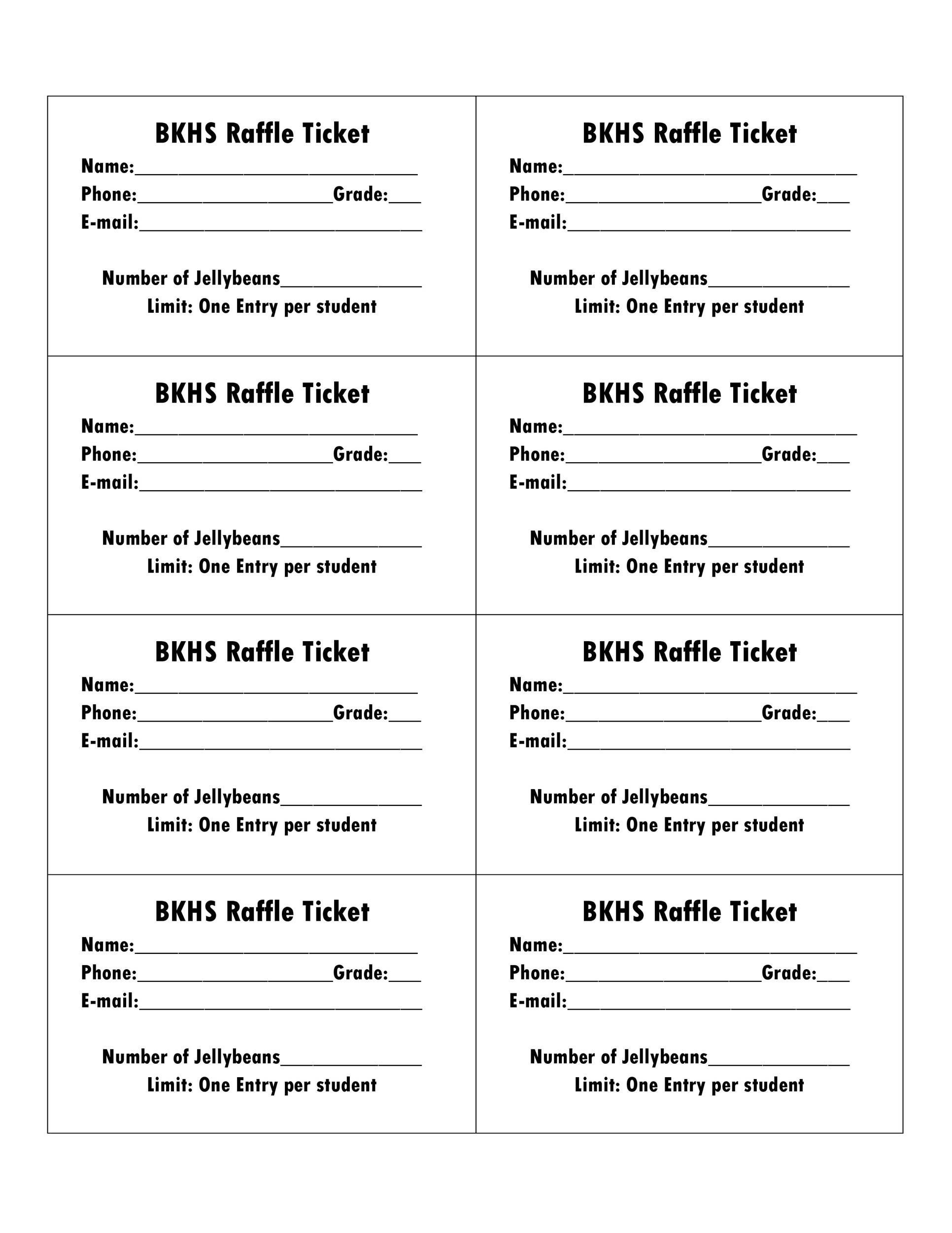 001 Magnificent Raffle Ticket Template Word Photo  8 Per Page FormatFull