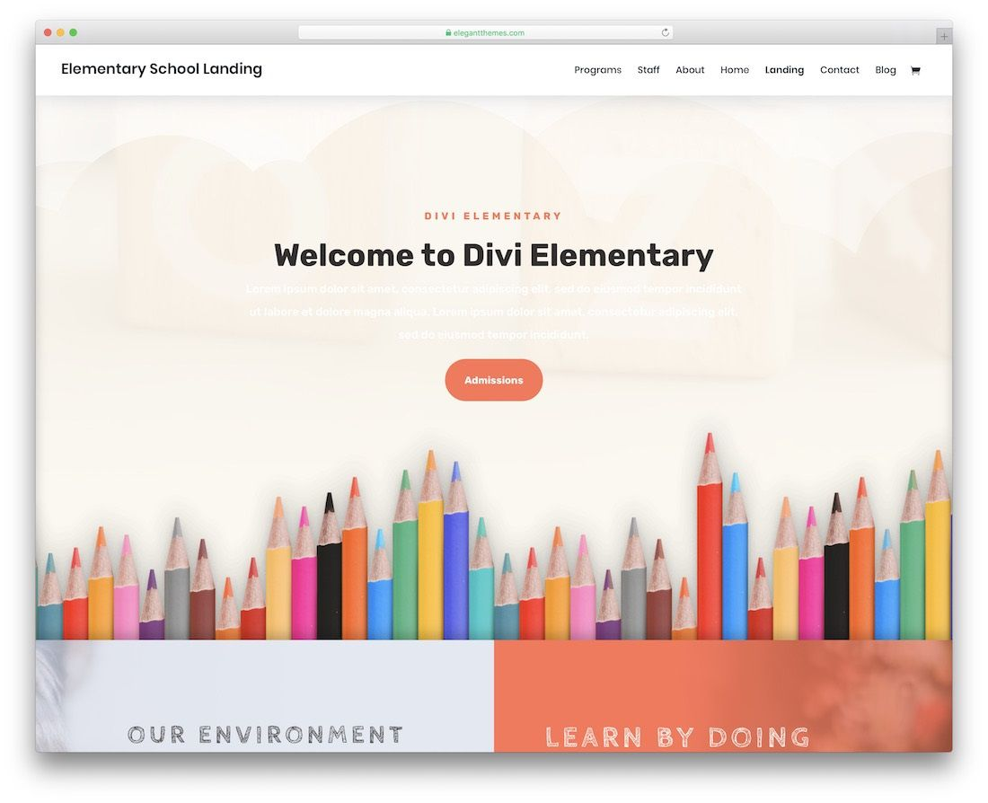 001 Magnificent School Website Html Template Free Download Sample  Responsive With Cs JqueryFull