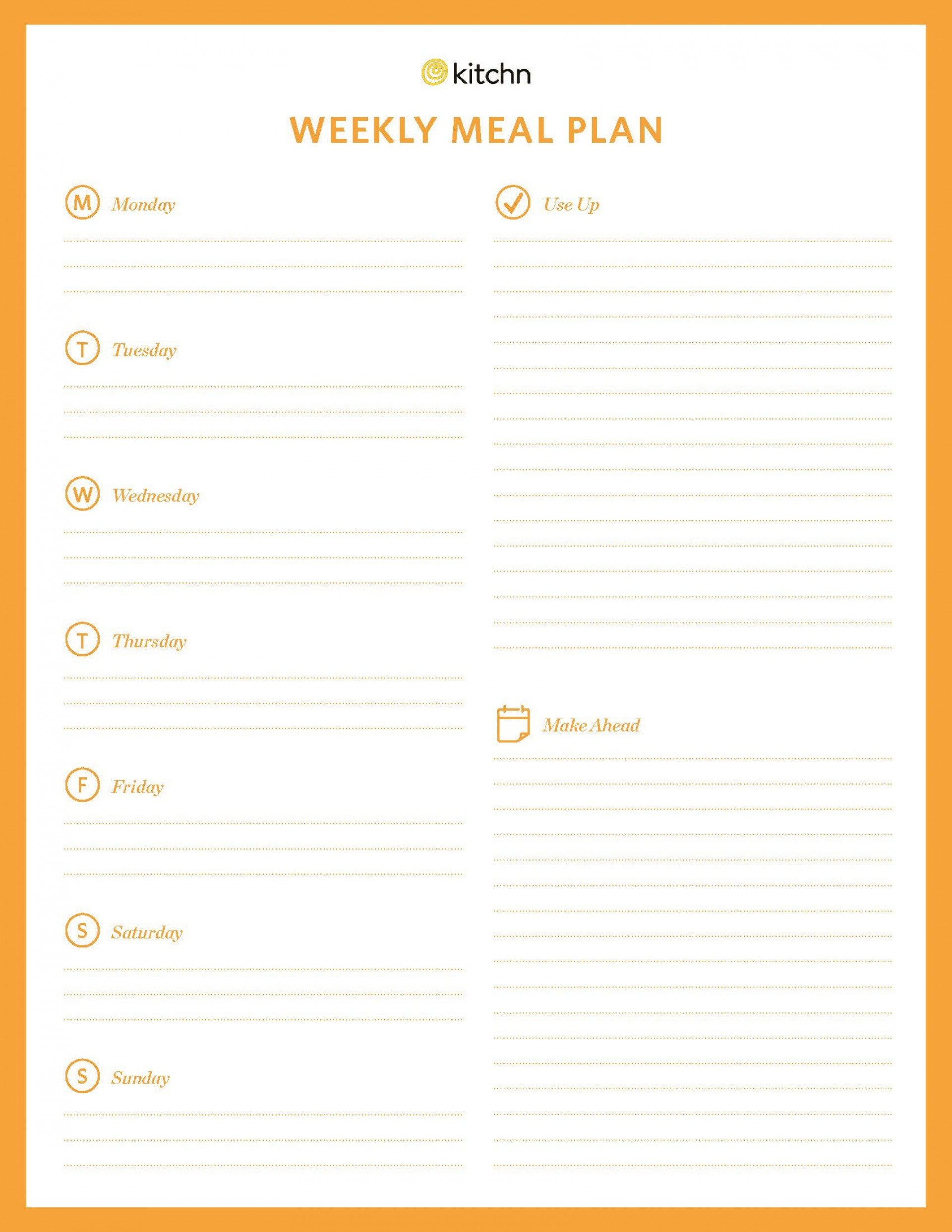 001 Magnificent Weekly Eating Plan Template High Definition  Food Planner Excel Meal Download1920