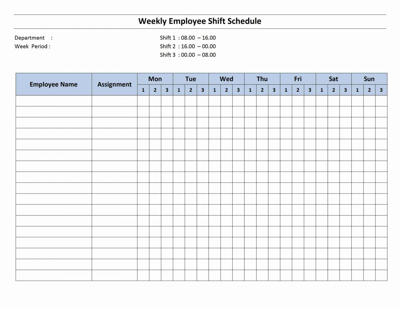 001 Magnificent Work Schedule Format In Excel Download Inspiration  Order Template Free1400
