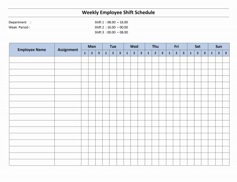 001 Magnificent Work Schedule Format In Excel Download Inspiration  Order Template Free480
