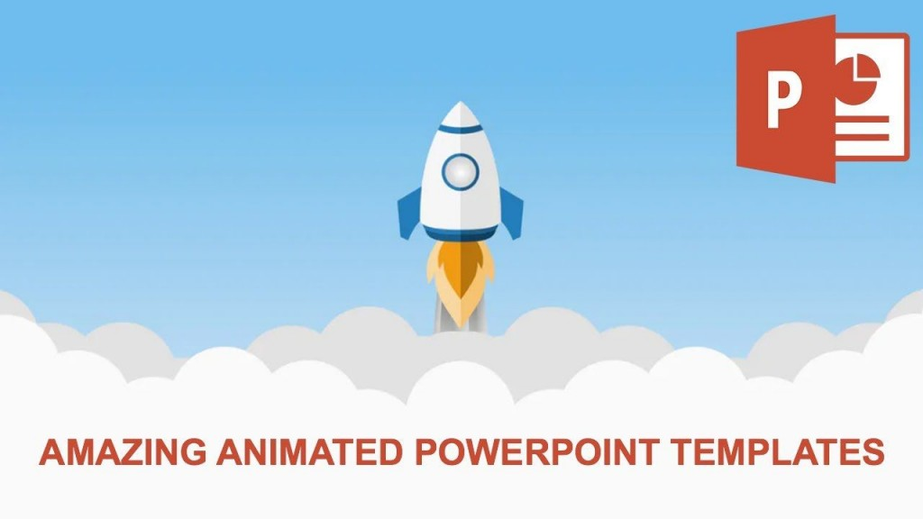 001 Marvelou Animated Powerpoint Template Free Download 2016 Example  3dLarge