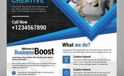 001 Marvelou Busines Flyer Template Free Concept  Psd 2018 Vector Brochure Training