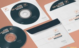 001 Marvelou Cd Cover Template Psd Example  Sleeve Case Free Download Layout