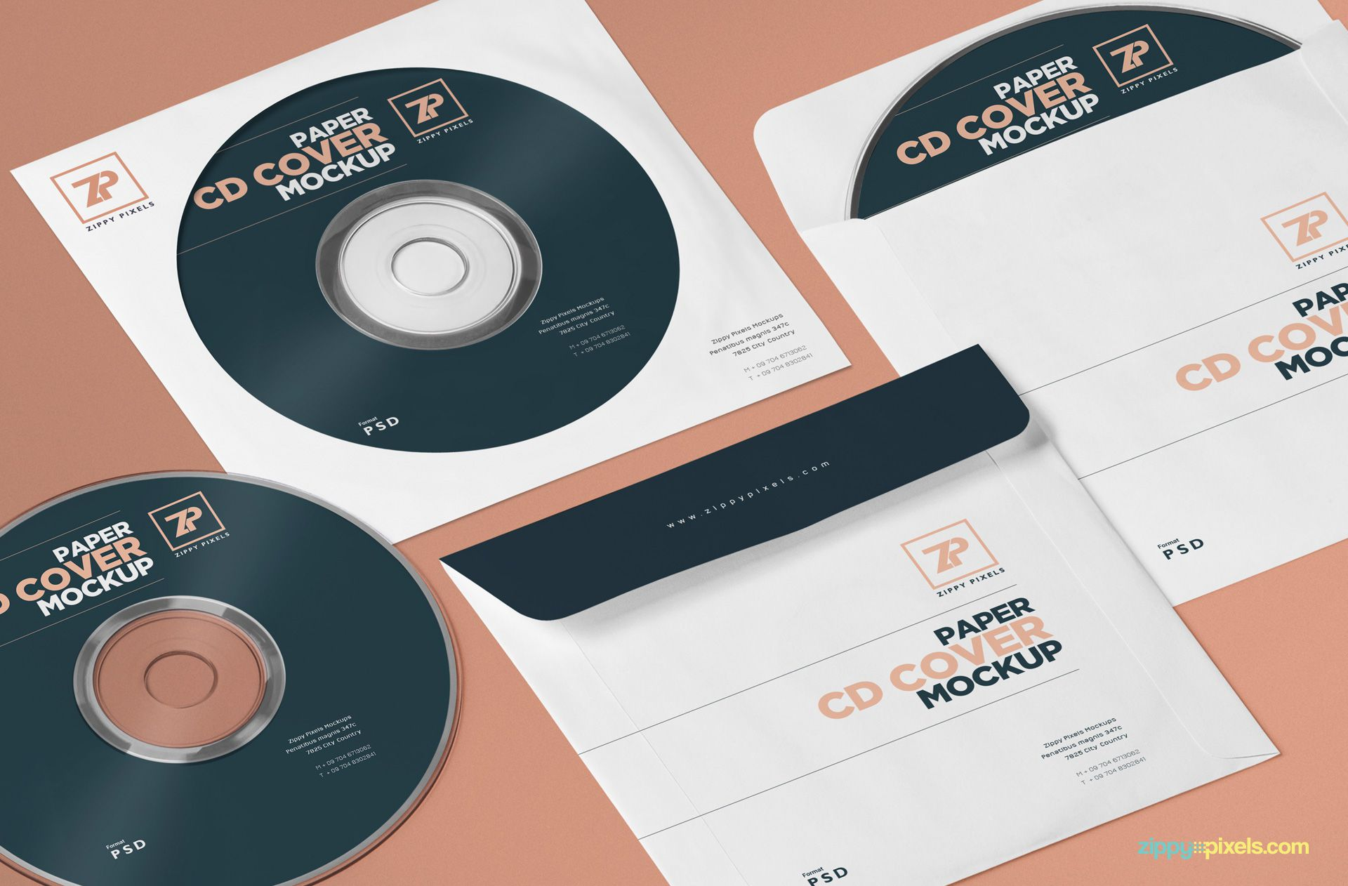 001 Marvelou Cd Cover Template Psd Example  Sleeve Case Free Download LayoutFull