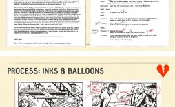 001 Marvelou Comic Book Script Writing Format Concept  Example