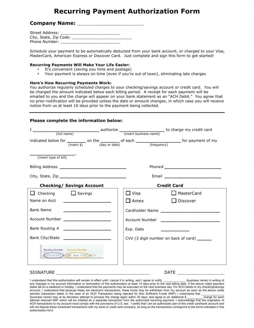 001 Marvelou Credit Card Payment Form Template Pdf Concept  Authorization