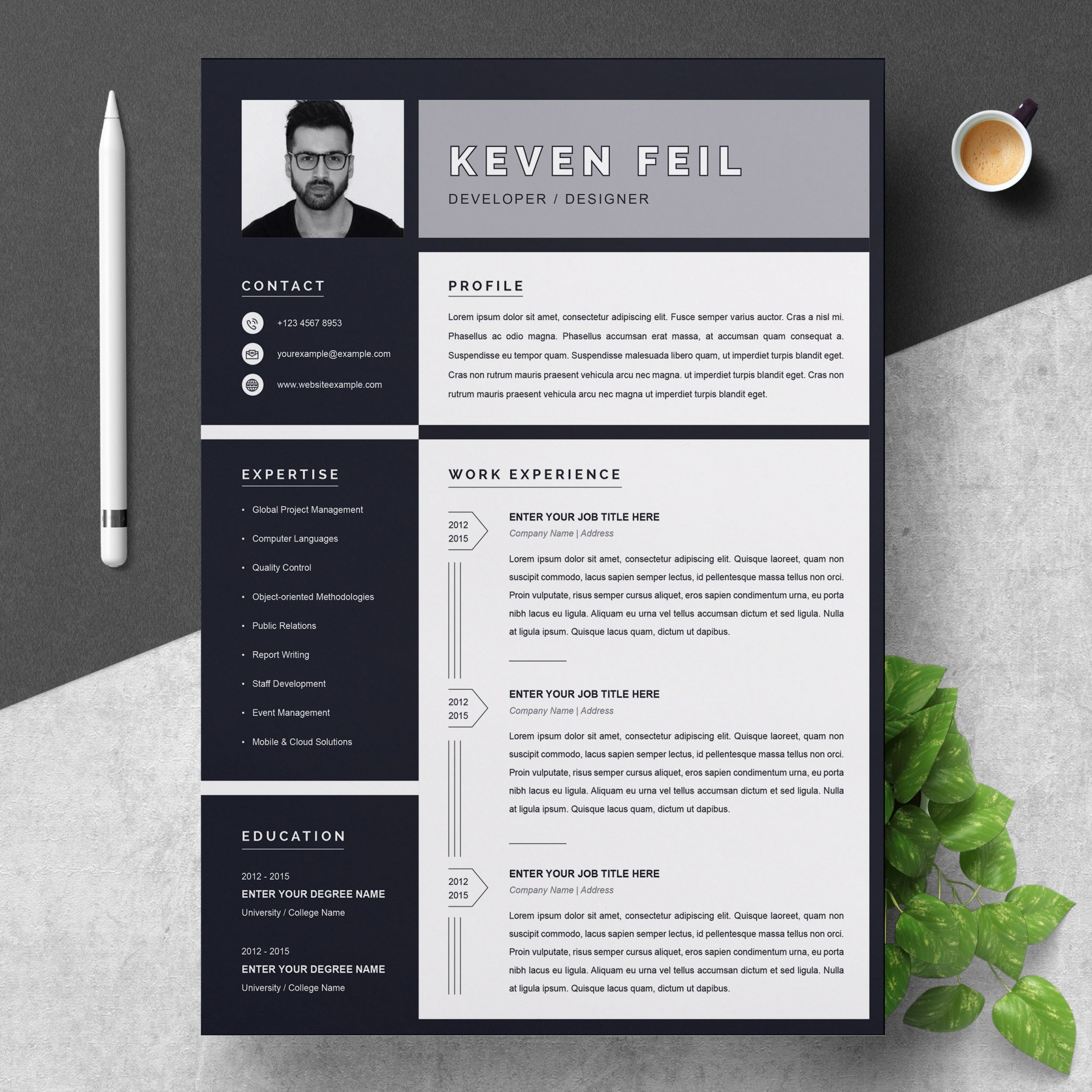 001 Marvelou Download Resume Template Free Mac Highest Clarity  For1920