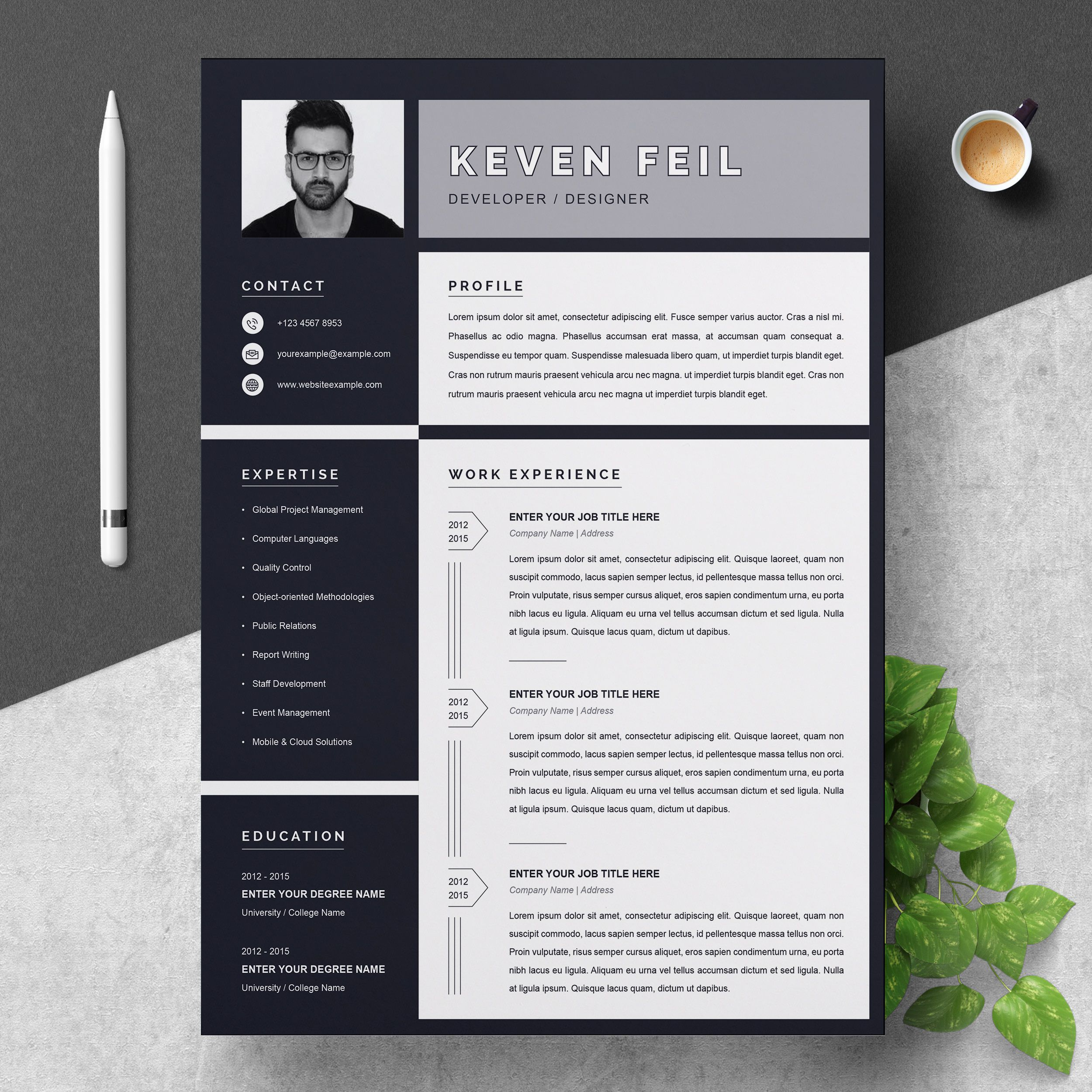 001 Marvelou Download Resume Template Free Mac Highest Clarity  ForFull