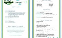 001 Marvelou Free Event Program Template Image  Templates Half Fold Online Download