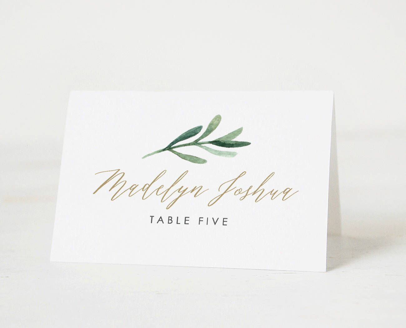 Free Place Card Template Addictionary
