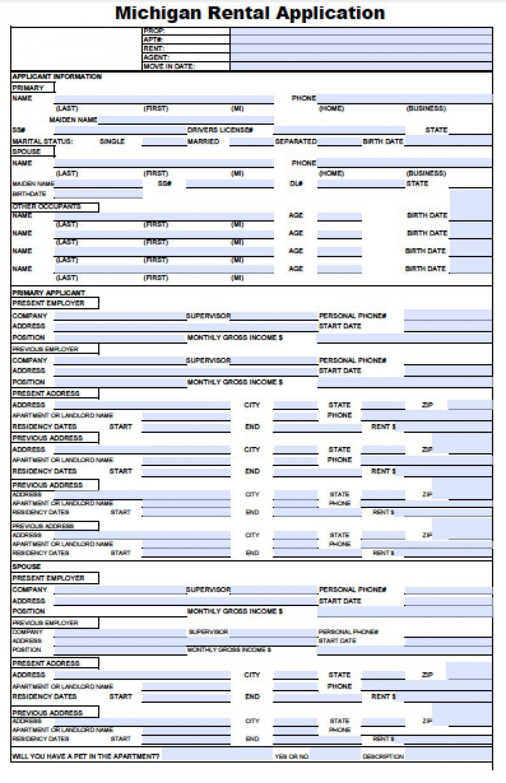 001 Marvelou Free Rental Application Template Highest Quality  Form Oregon Credit Online1920