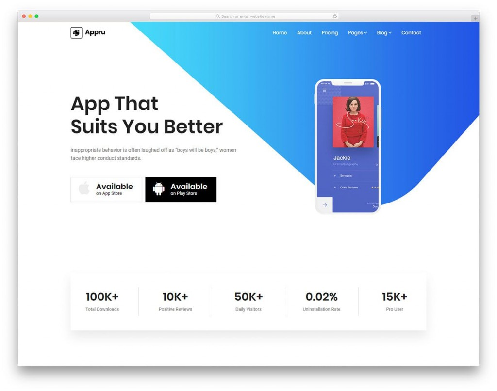 001 Marvelou Html Landing Page Template Free Idea  Responsive Download Simple BestLarge