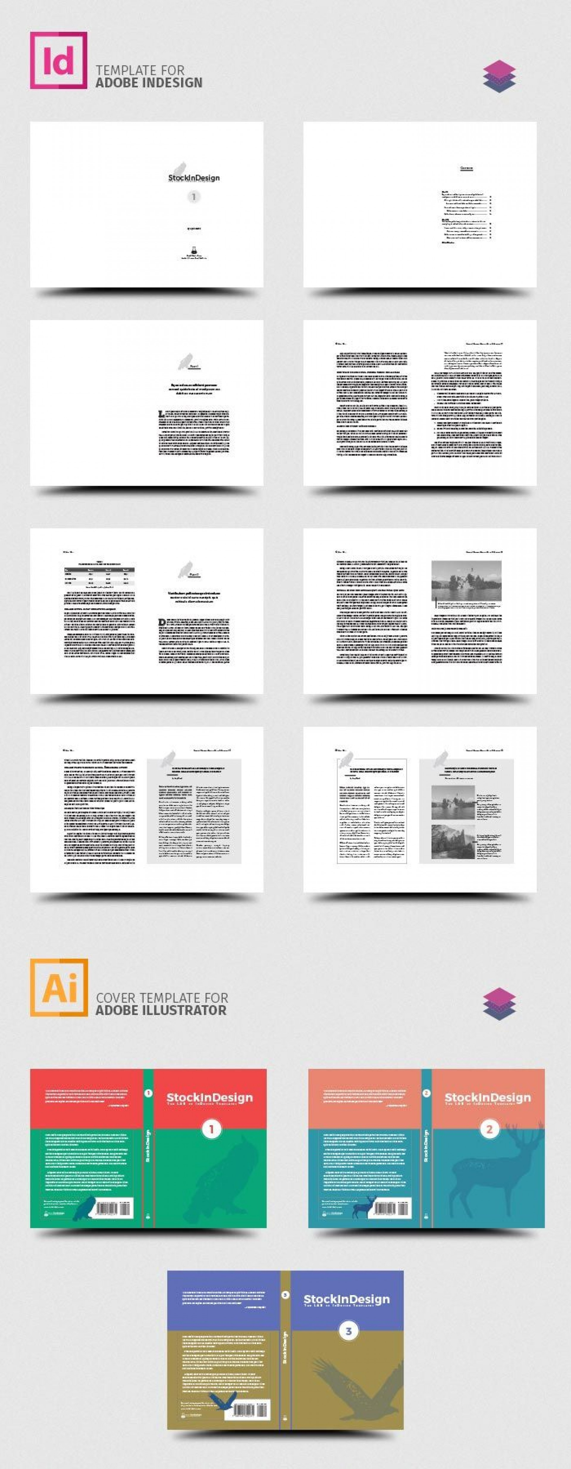 001 Marvelou Indesign Book Layout Template High Resolution  Free Download1920