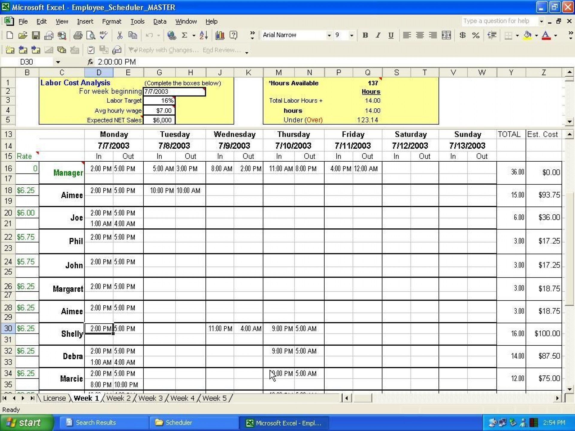 001 Marvelou Microsoft Excel Schedule Template Sample  Construction Calendar 2020 Free1920
