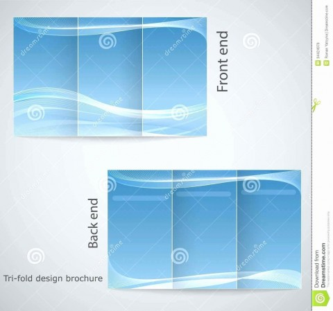 001 Marvelou M Word Tri Fold Brochure Template Highest Clarity  Microsoft Free Download480