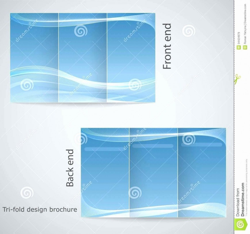 001 Marvelou M Word Tri Fold Brochure Template Highest Clarity  Microsoft Free Download868