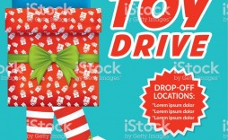 001 Marvelou Toy Drive Flyer Template Free Highest Clarity  Christma Download