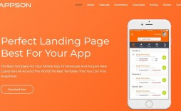 001 Outstanding Bootstrap Mobile App Template Design  Html5 Form 4